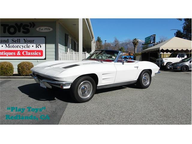 1963 Chevrolet Corvette Stingray (CC-1307747) for sale in Redlands, California
