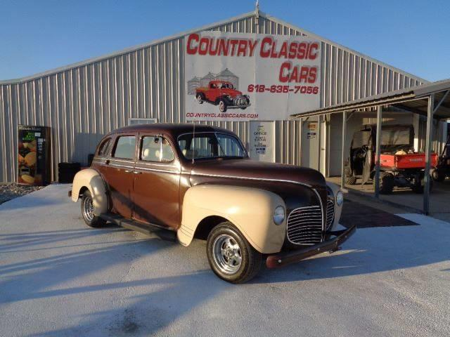 1941 Plymouth 4-Dr Sedan (CC-1307878) for sale in Staunton, Illinois