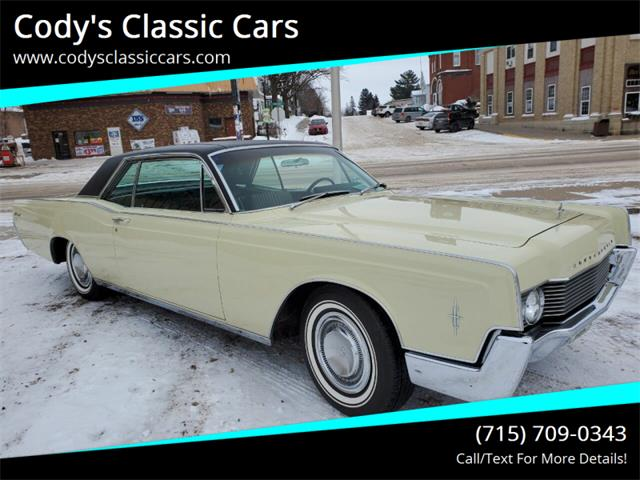1966 Lincoln Continental (CC-1307908) for sale in Stanley, Wisconsin