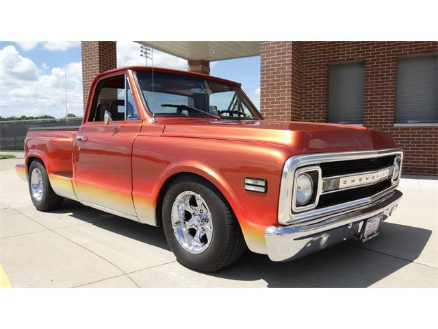 1969 Chevrolet C20 (CC-1308033) for sale in Davenport, Iowa
