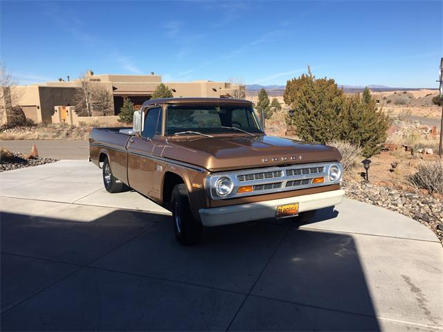 1971 Dodge D100 (CC-1308035) for sale in Placitas, New Mexico