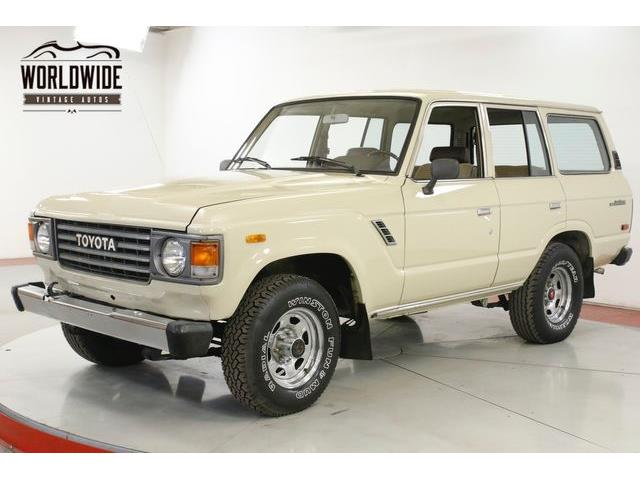 1983 Toyota Land Cruiser FJ (CC-1308043) for sale in Denver , Colorado