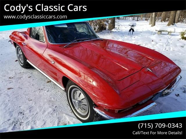 1964 Chevrolet Corvette (CC-1308061) for sale in Stanley, Wisconsin