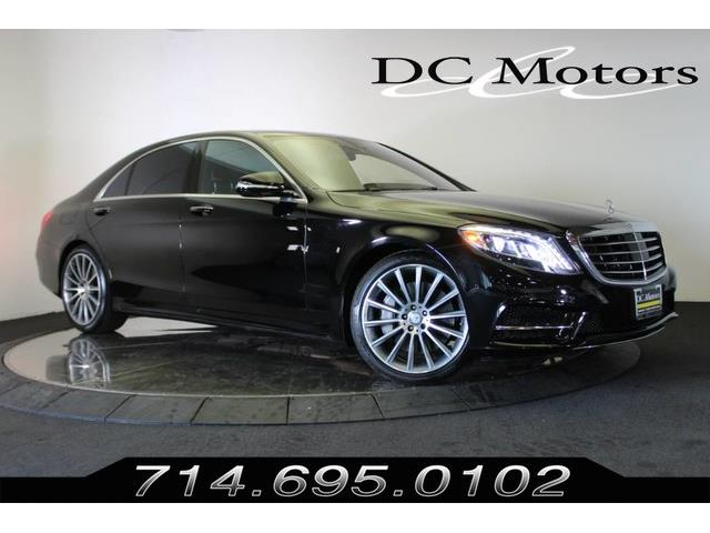 2016 Mercedes-Benz S-Class (CC-1308204) for sale in Anaheim, California