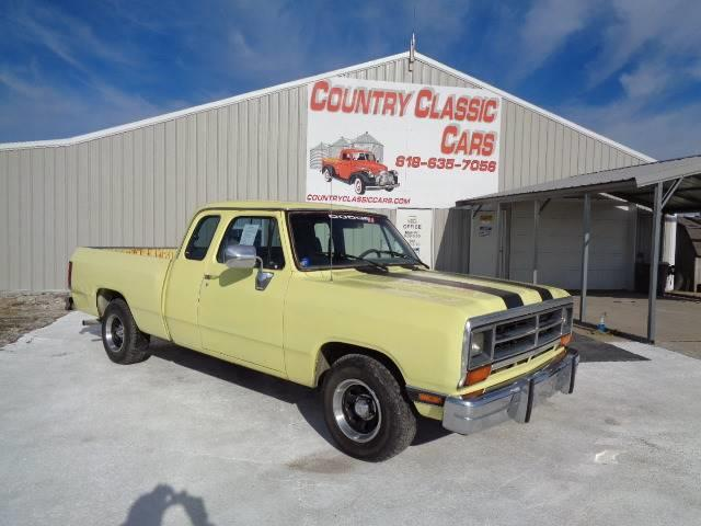 1990 Dodge D100 (CC-1308538) for sale in Staunton, Illinois