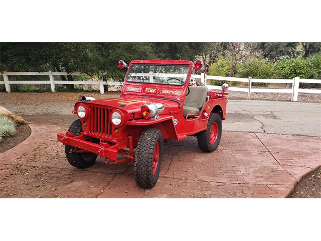 1951 Willys Jeep (CC-1308655) for sale in Fallbrook, California