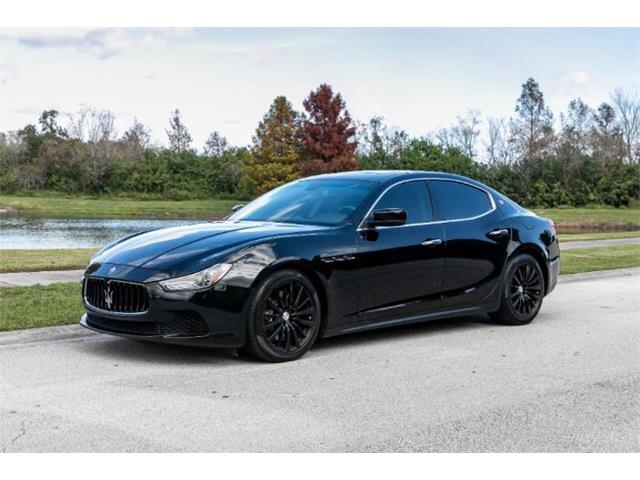 2015 Maserati Ghibli (CC-1308951) for sale in Cadillac, Michigan