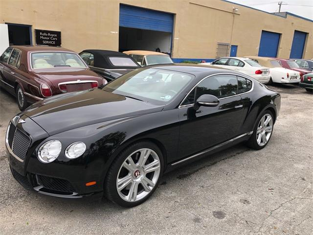 2013 Bentley Continental