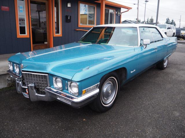1971 Cadillac DeVille (CC-1309143) for sale in Tacoma, Washington