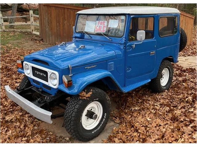 1981 Toyota Land Cruiser FJ (CC-1309194) for sale in Tulsa, Oklahoma