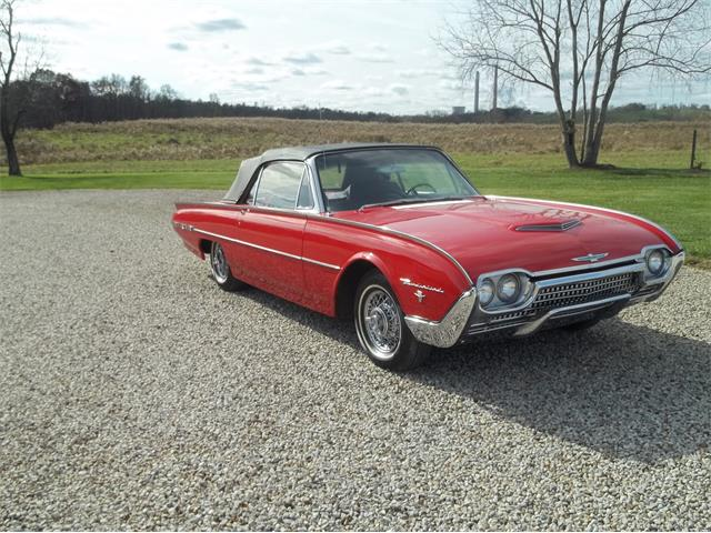 1962 Ford Thunderbird Sports Roadster (CC-1300920) for sale in Racine, Ohio