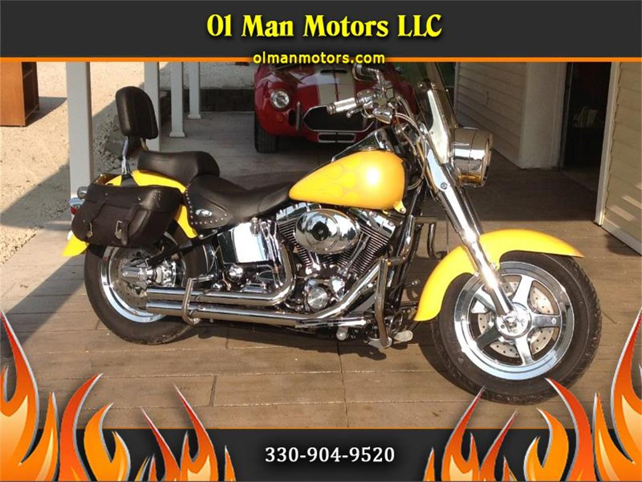2002 Harley-Davidson Fat Boy (CC-1309475) for sale in Louisville, Ohio