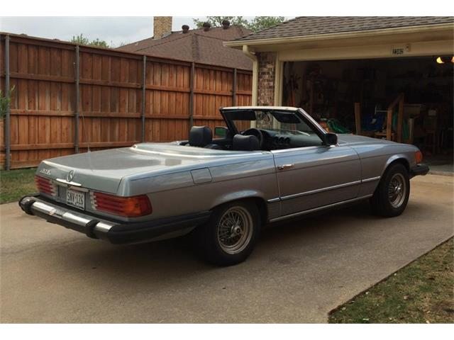 1980 Mercedes-Benz 450SL (CC-1309788) for sale in Richardson, Texas