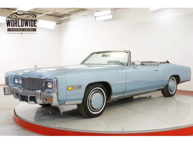 1976 Cadillac Eldorado (CC-1300982) for sale in Denver , Colorado