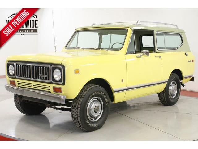 1975 International Scout II (CC-1300988) for sale in Denver , Colorado