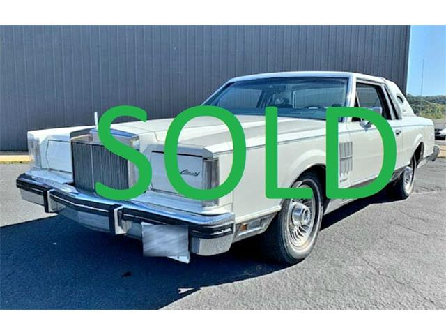 1983 Lincoln Continental (CC-1311168) for sale in Annandale, Minnesota