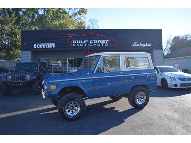 1971 Ford Bronco (CC-1310133) for sale in Biloxi, Mississippi