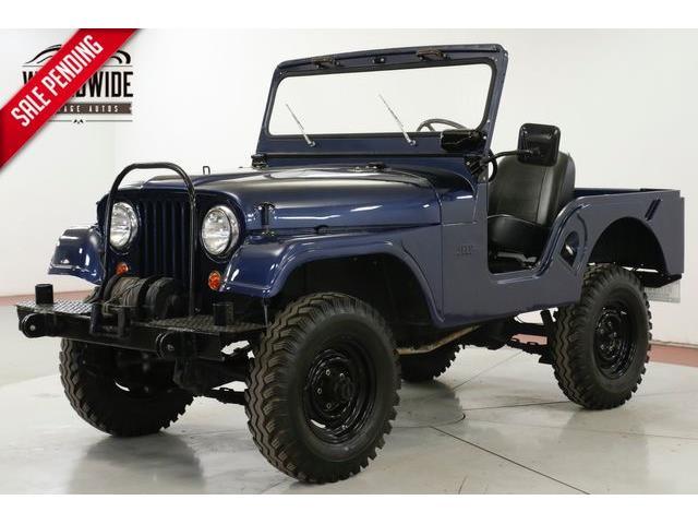 1962 Jeep CJ5 (CC-1311433) for sale in Denver , Colorado