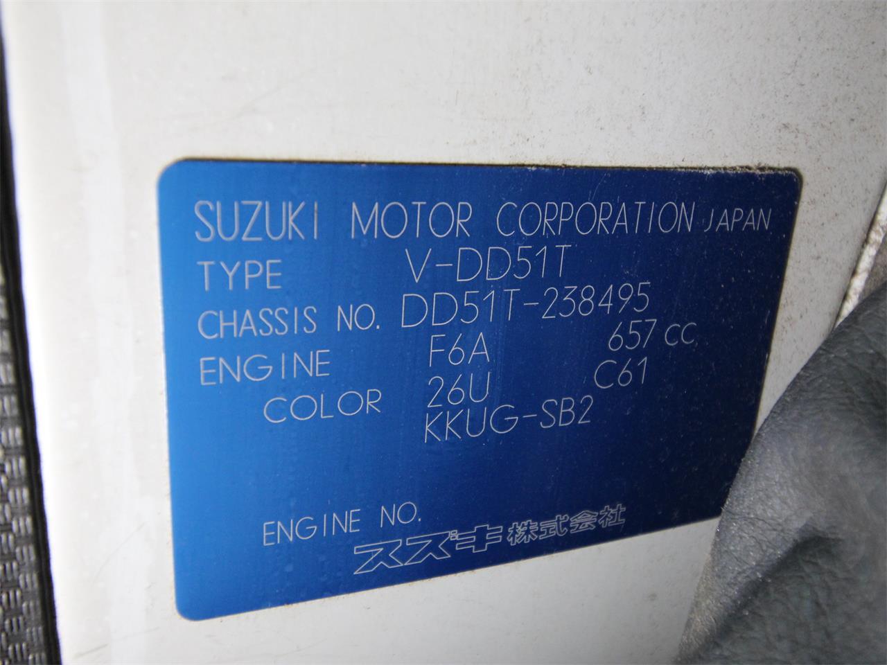 1993 Suzuki Carry (CC-1311438) for sale in Christiansburg, Virginia