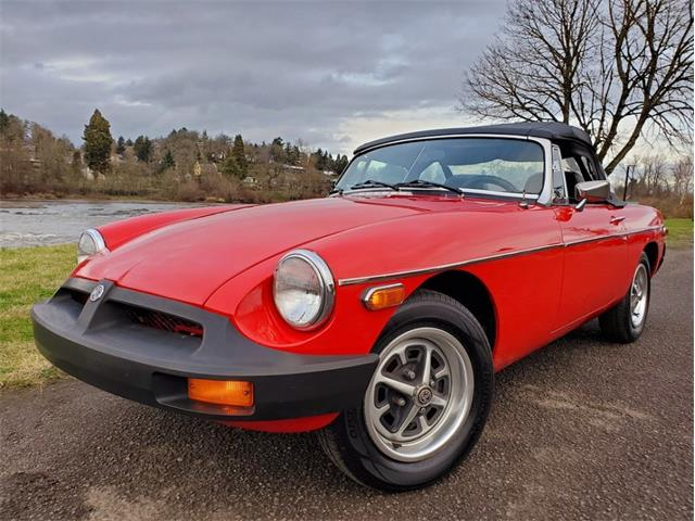 1977 MG MGB (CC-1311610) for sale in Eugene, Oregon