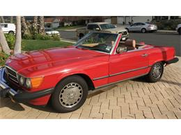 1986 Mercedes-Benz 560SL (CC-1311772) for sale in San Clemente, California