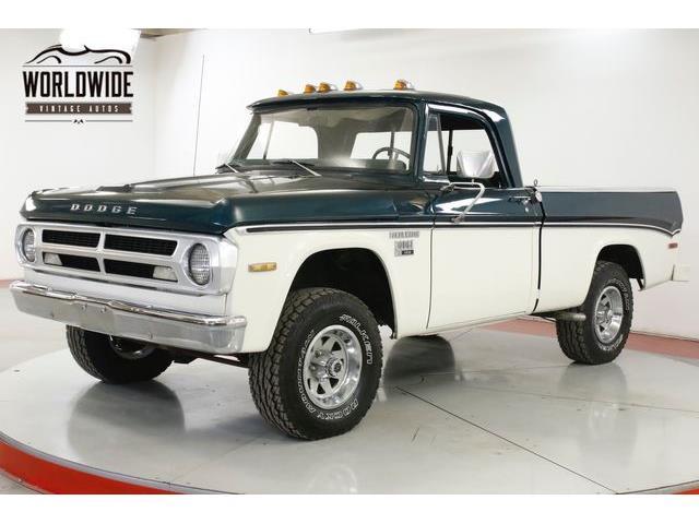 1971 Dodge Power Wagon (CC-1311821) for sale in Denver , Colorado