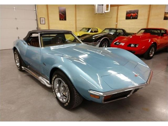 1972 Chevrolet Corvette (CC-1311921) for sale in Cadillac, Michigan