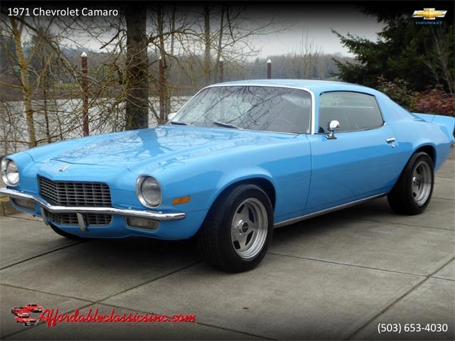 1971 Chevrolet Camaro (CC-1311942) for sale in Gladstone, Oregon