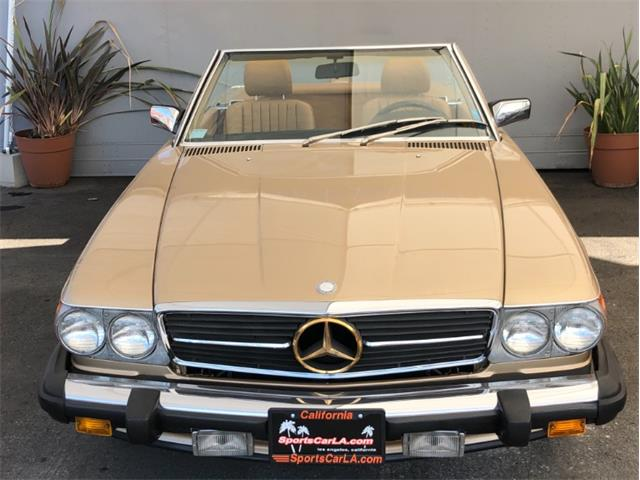 1987 Mercedes-Benz 560 (CC-1311948) for sale in Los Angeles, California
