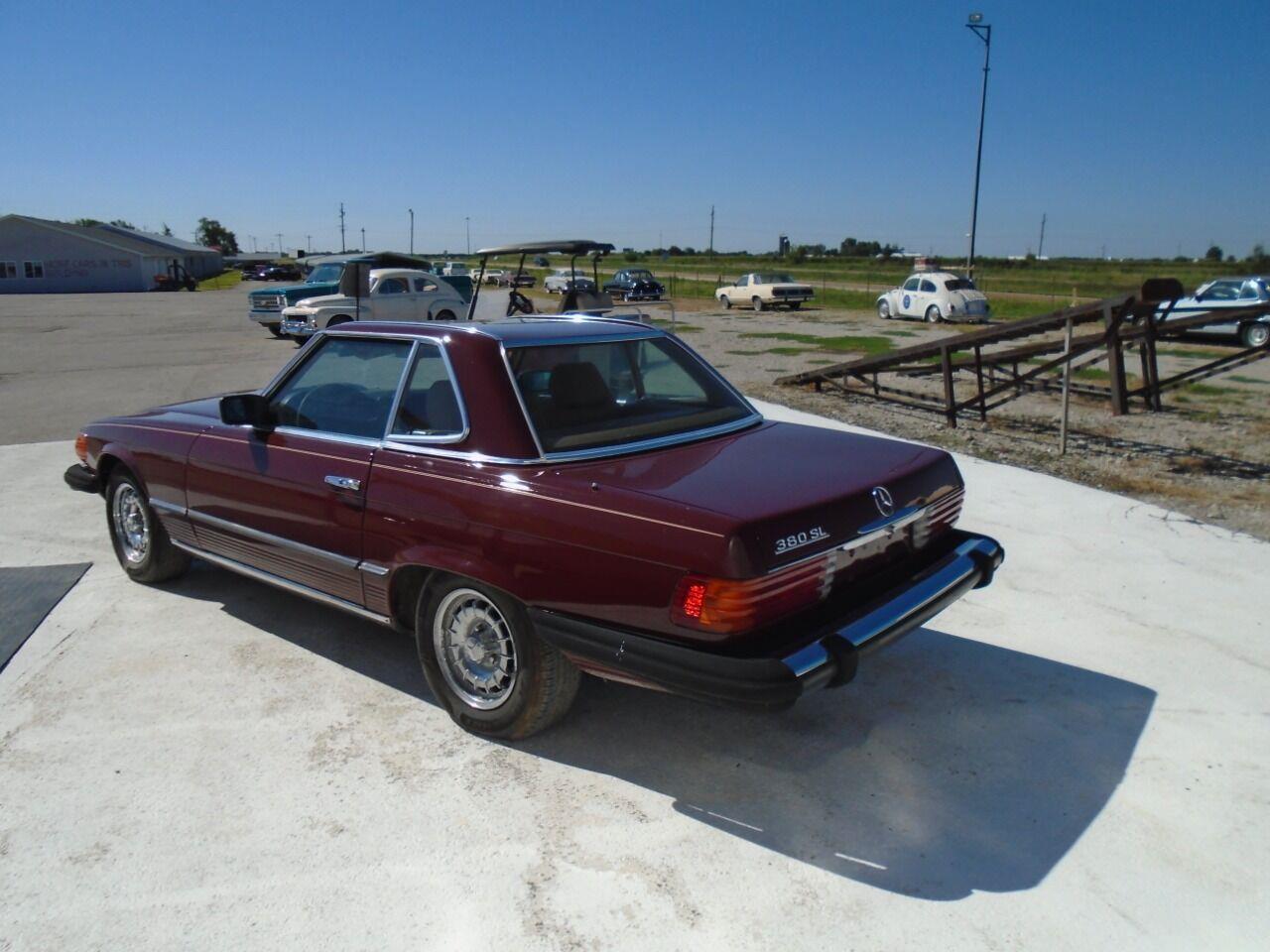 1984 Mercedes-Benz 380SL (CC-1312176) for sale in Staunton, Illinois