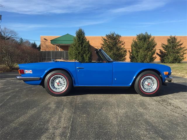 1976 Triumph TR6 (CC-1310276) for sale in Milford, Ohio