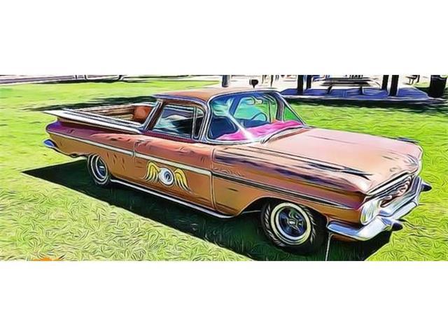 1959 Chevrolet El Camino (CC-1312825) for sale in Cadillac, Michigan