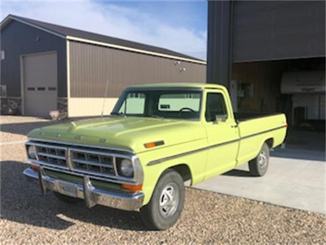 1970 Ford F100 (CC-1312839) for sale in Cody, Wyoming
