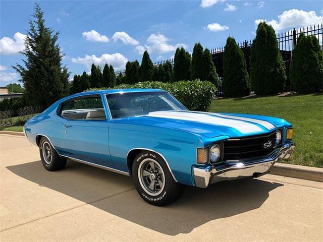 1972 Chevrolet Chevelle (CC-1312982) for sale in Burr Ridge, Illinois