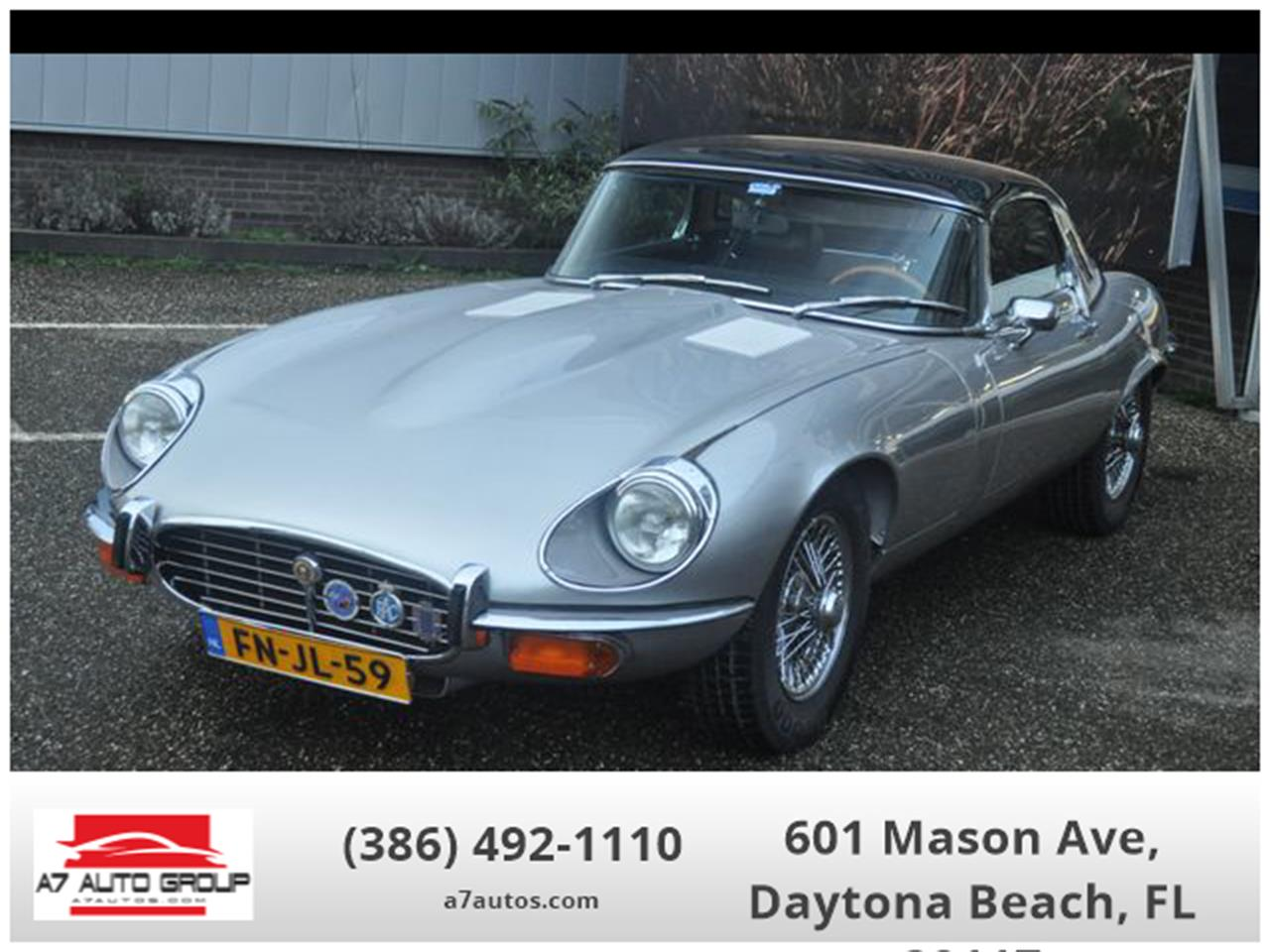 1972 Jaguar E-Type (CC-1312999) for sale in Holly Hill, Florida