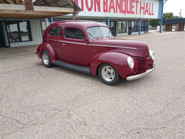 1940 Ford 2-Dr Sedan (CC-1313062) for sale in Benton, Kansas