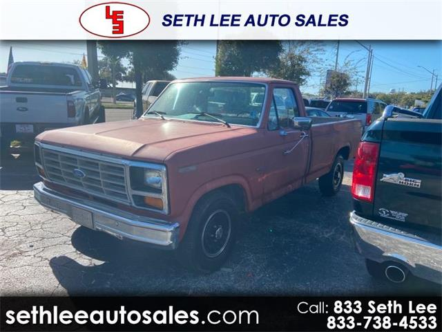 1986 Ford F150 (CC-1313171) for sale in Tavares, Florida