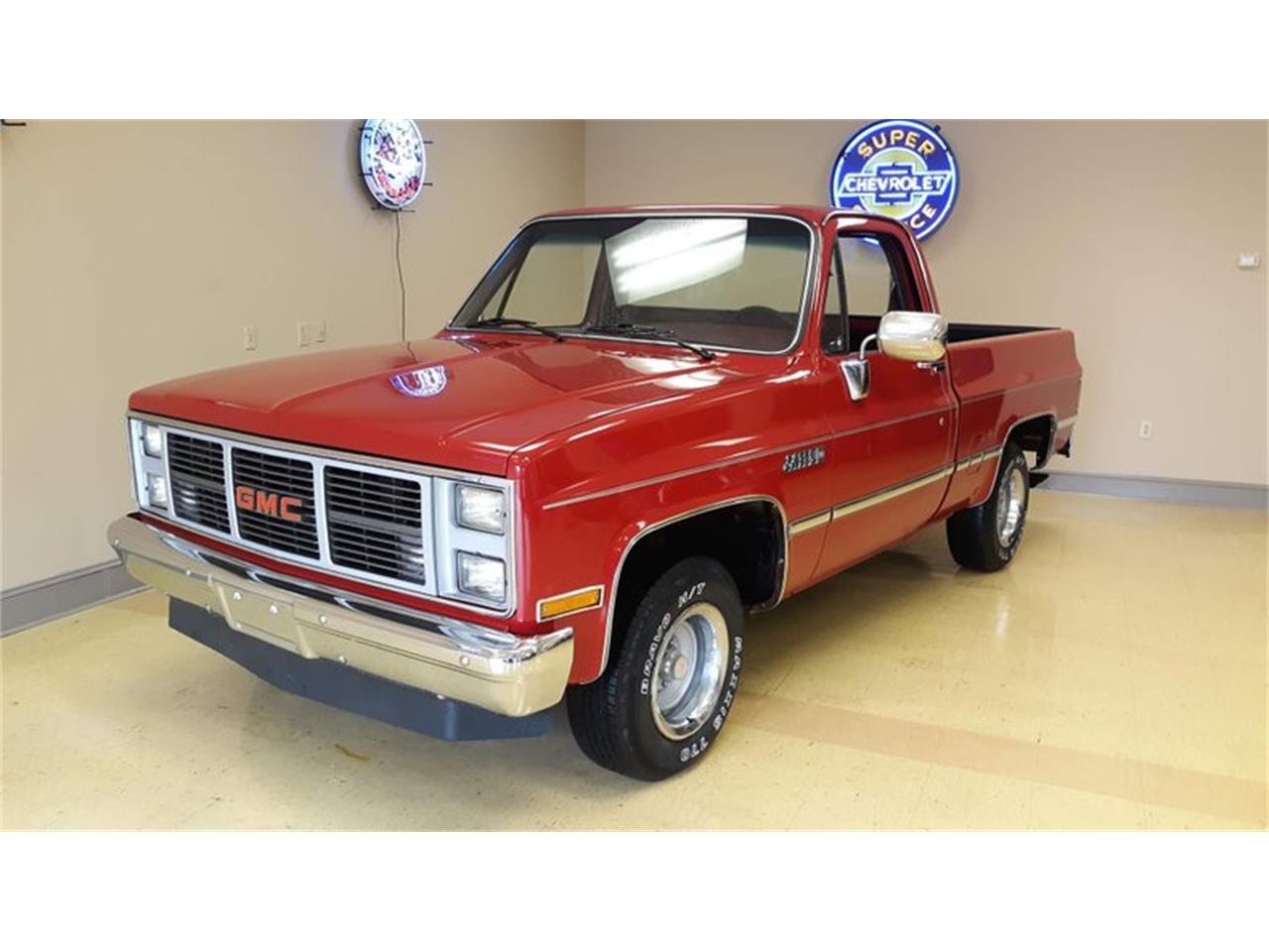 for sale at auction 1987 gmc sierra in greensboro, north carolina cars - greensboro, nc at geebo