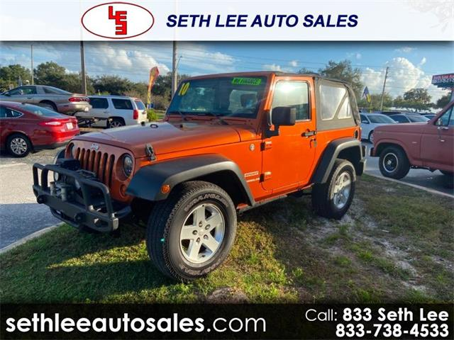 2010 Jeep Wrangler (CC-1313552) for sale in Tavares, Florida