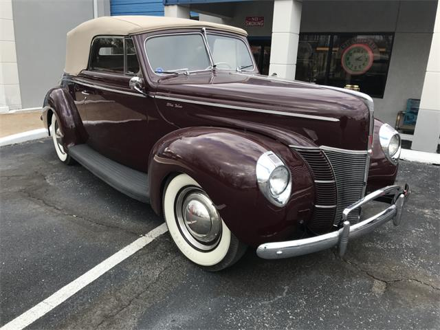 1940 Ford Convertible (CC-1313682) for sale in SHAWNEE, Oklahoma