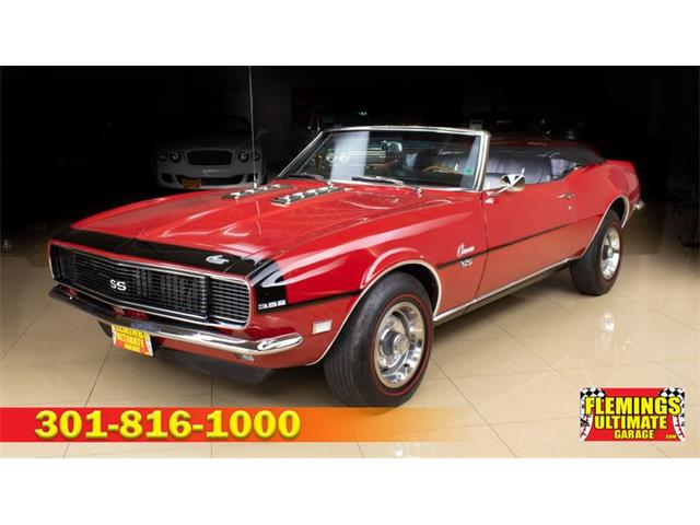 1968 Chevrolet Camaro (CC-1310380) for sale in Rockville, Maryland
