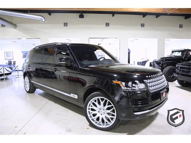 2017 Land Rover Range Rover (CC-1313923) for sale in Chatsworth, California
