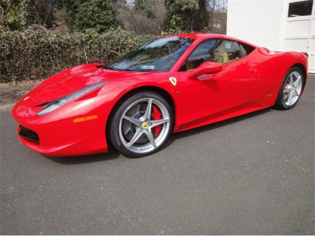 2012 Ferrari 458 Italia (CC-1313932) for sale in Cadillac, Michigan
