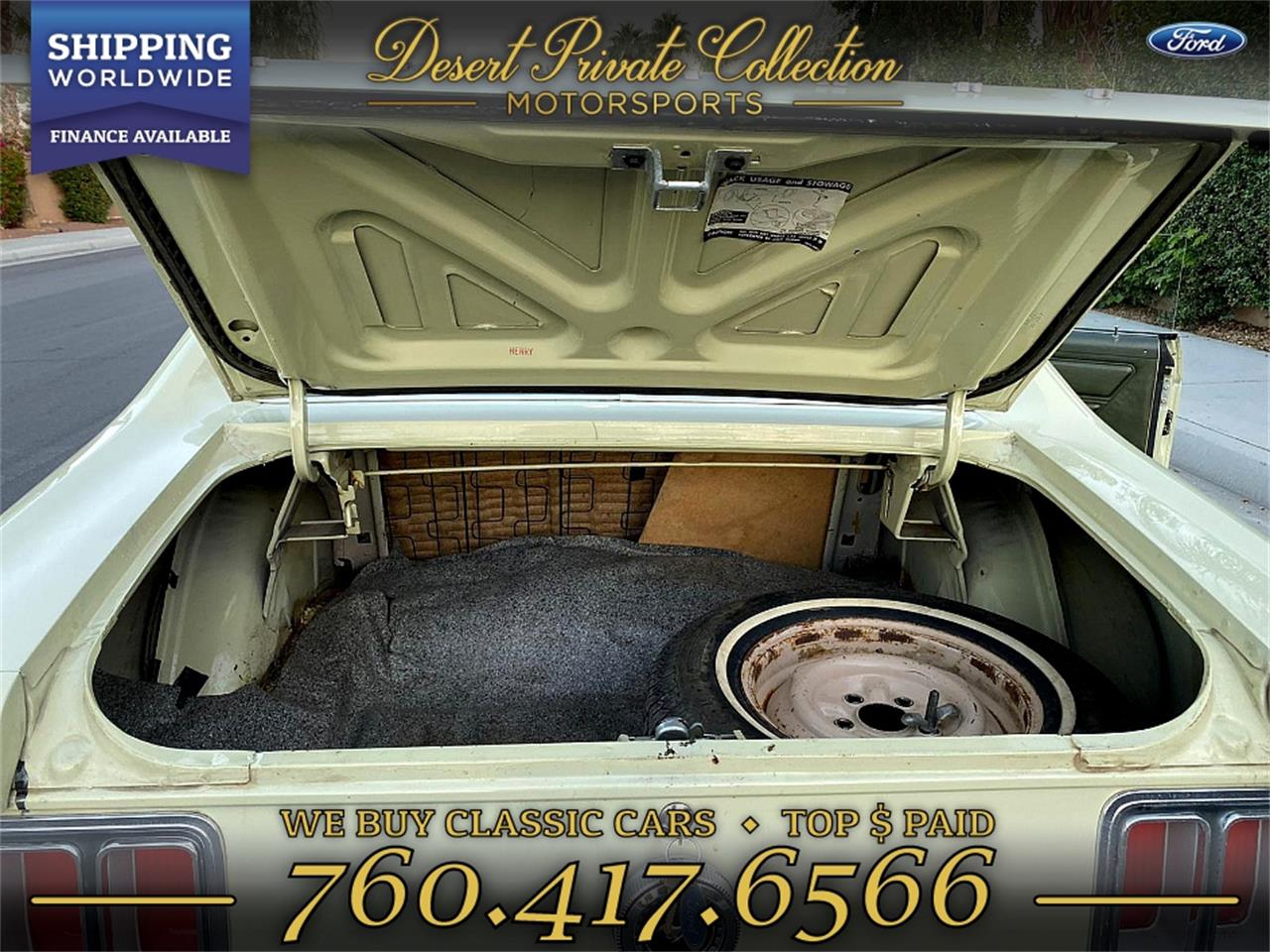 1970 Ford Mustang (CC-1313951) for sale in Palm Desert , California
