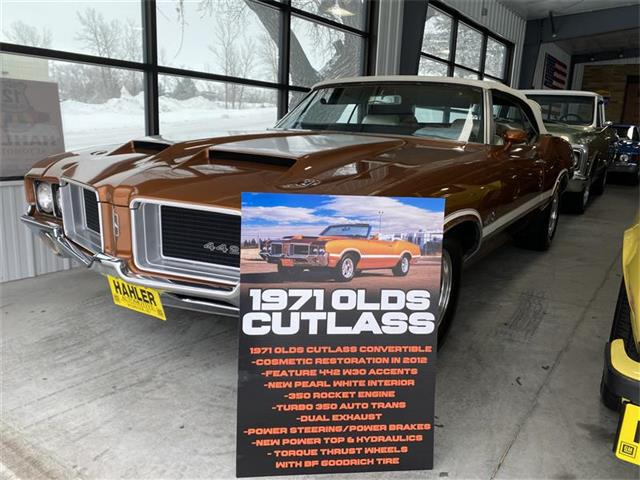 1971 Oldsmobile Cutlass (CC-1313997) for sale in Webster, South Dakota
