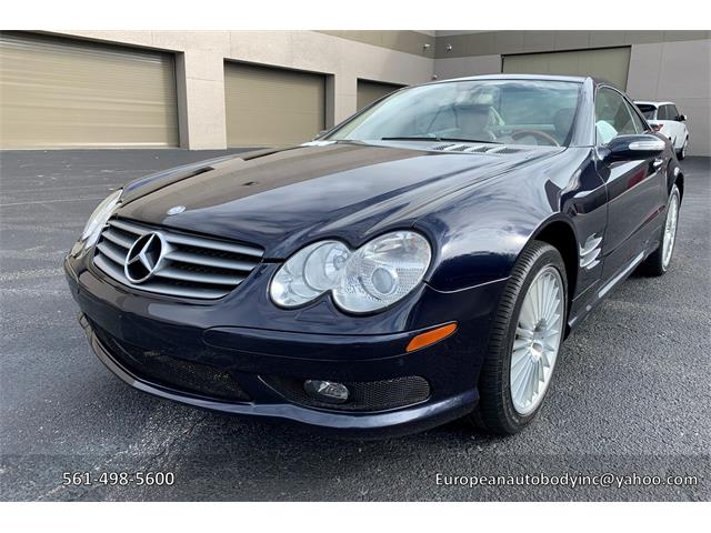 2005 Mercedes-Benz 500SL (CC-1314013) for sale in Boca Raton, Florida