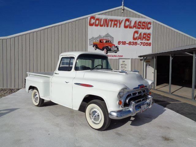 1957 Chevrolet 3100 (CC-1314245) for sale in Staunton, Illinois