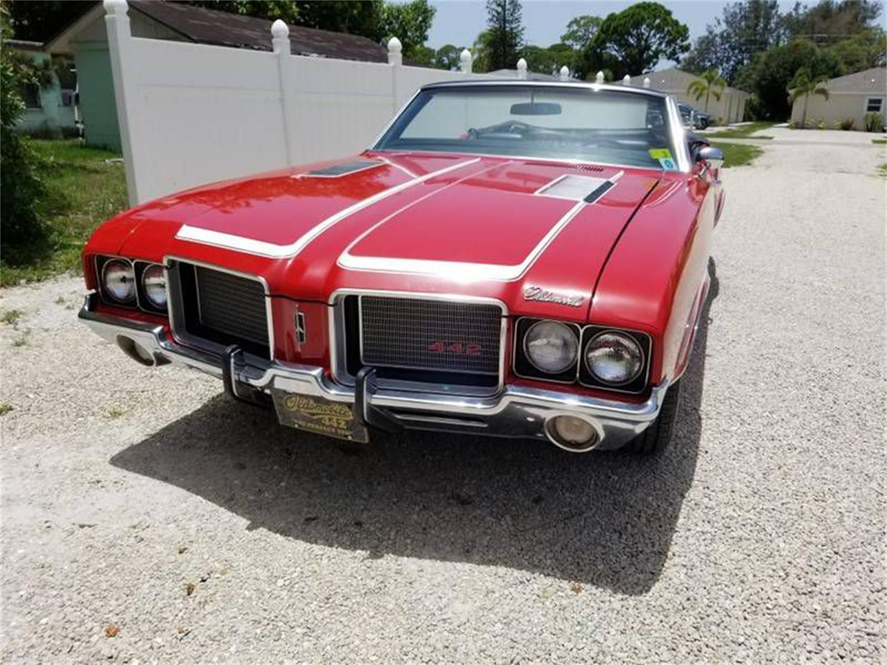 1972 Oldsmobile 442 (CC-1314256) for sale in West Pittston, Pennsylvania