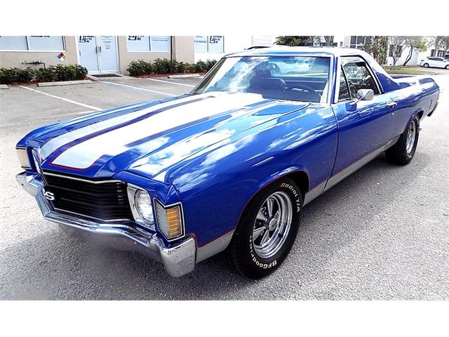 1972 Chevrolet El Camino (CC-1314444) for sale in pompano beach, Florida