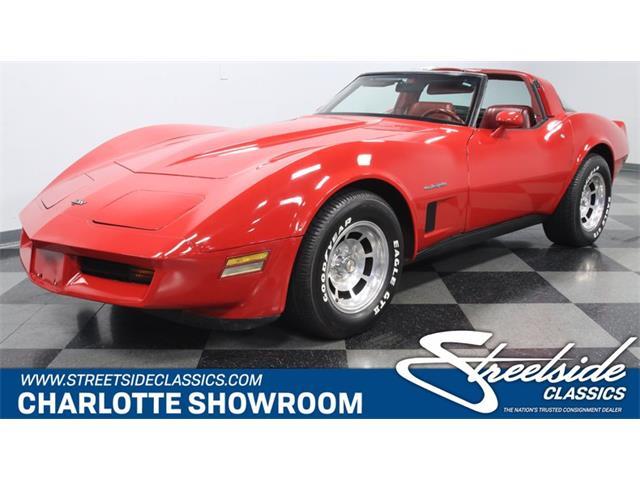 1982 Chevrolet Corvette (CC-1314601) for sale in Concord, North Carolina